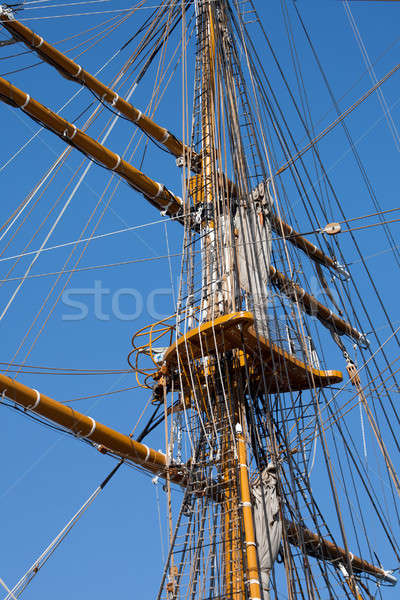 Mast sailing ship Stock photo © All32