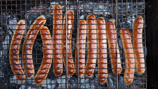 Grilled sausages Stock photo © All32