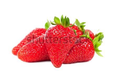 Eprek izolált fehér étel gyümölcs nyár Stock fotó © All32