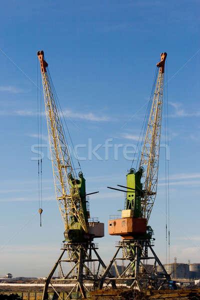 бизнеса небе воды металл промышленных Сток-фото © All32