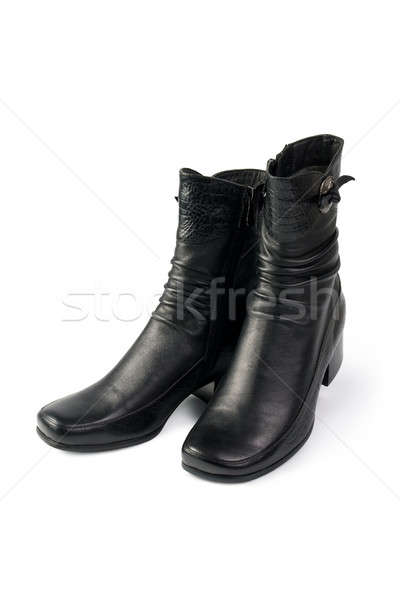 Women's black boots Stock photo © All32
