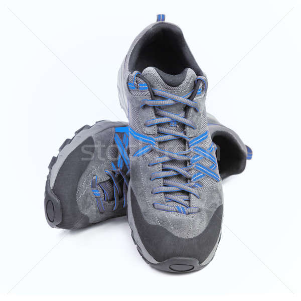 Zapatillas aislado blanco moda fitness zapatos Foto stock © All32