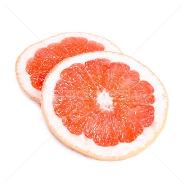 グレープフルーツ 孤立した 白 光 フルーツ 背景 ストックフォト © All32