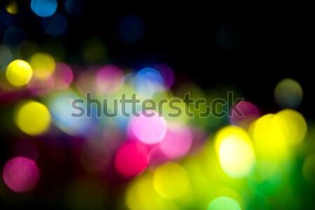 Bokeh cidade abstrato fundo noite diversão Foto stock © All32