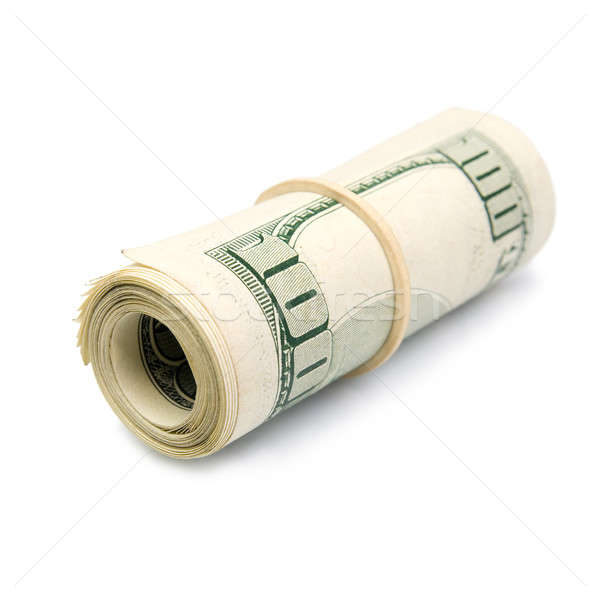 Rolled up dollar bills Stock photo © All32