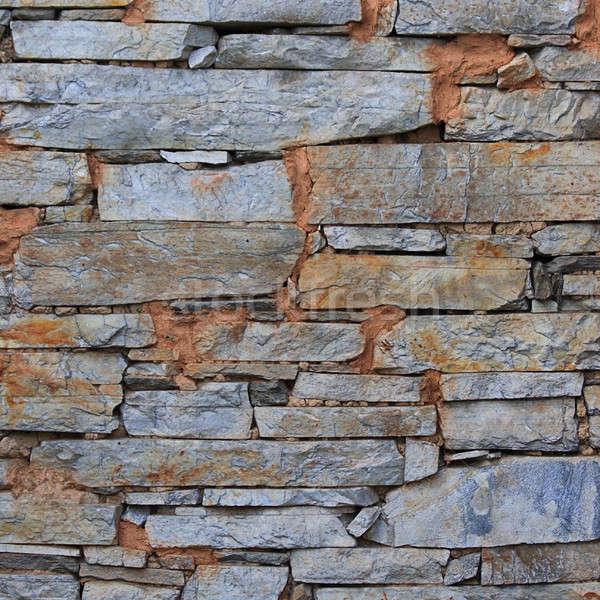 Pedras parede construção rocha cor Foto stock © All32