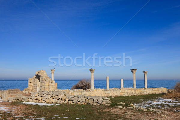 The ruins of the ancient city  Stock photo © All32
