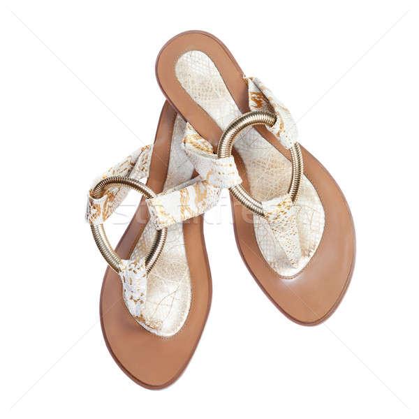 Women's summer sandals Stock photo © All32