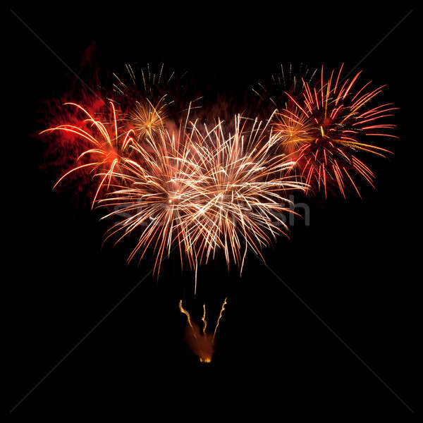 A beautiful fireworks Stock photo © All32