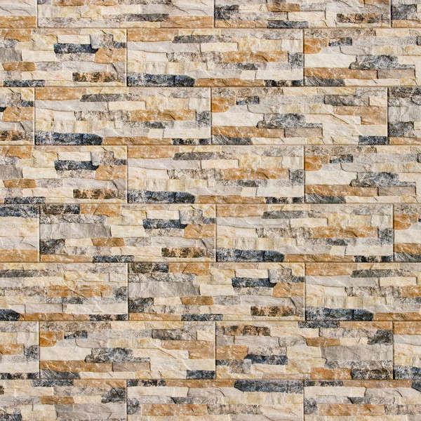 Tuiles peuvent utilisé texture bâtiment mur Photo stock © All32
