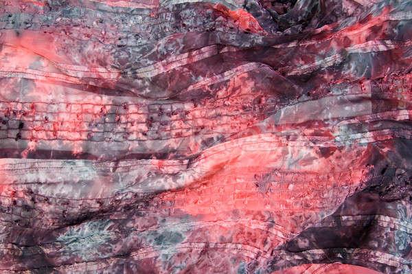 Papírzsebkendő textúra absztrakt fény művészet szövet Stock fotó © All32