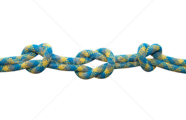 Sea knot. Straight with controls knot. Stock photo © All32
