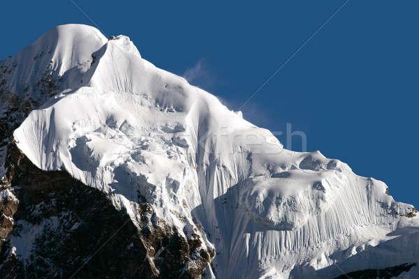 Snowy mountains of Tibet Stock photo © All32