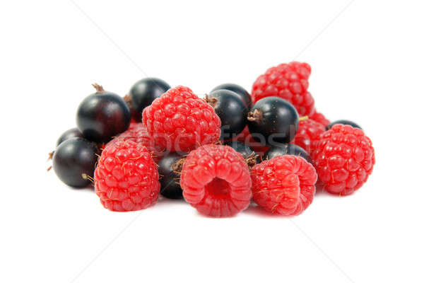 Assorted raspberry and black currant Stock photo © All32