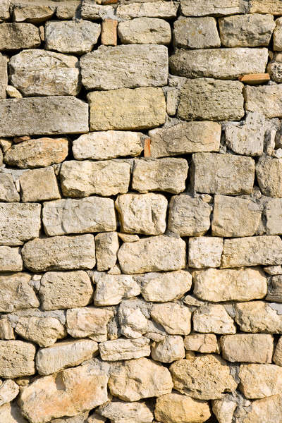 A wall built of stones.  Stock photo © All32