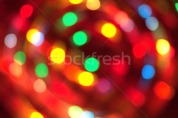 Feestelijk lichten kan gebruikt ontwerp achtergrond Stockfoto © All32
