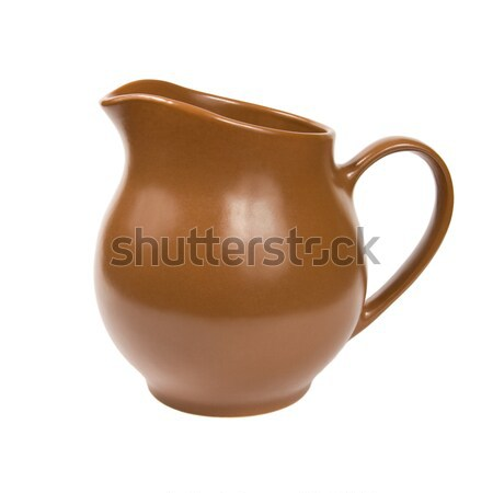 Brown jug.  Stock photo © All32