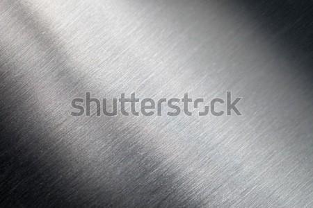 Superficie metallica texture abstract spazio piatto industriali Foto d'archivio © All32