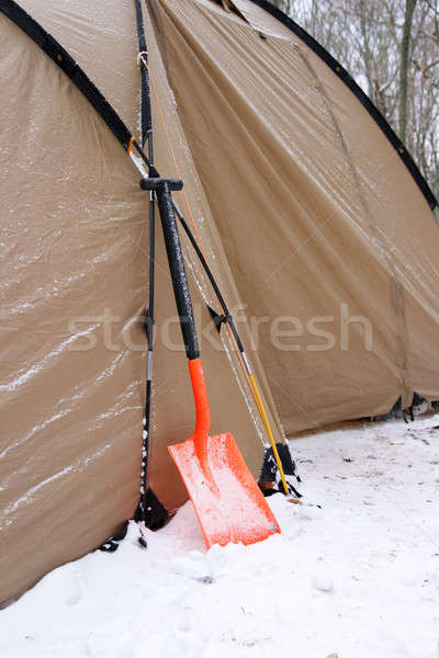 Snow shovels Stock photo © All32