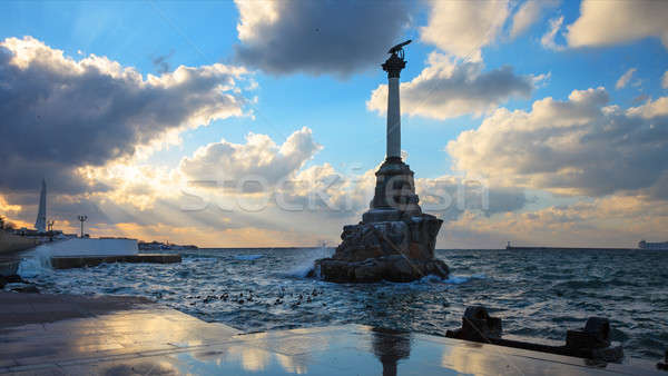 Monument to the sunken ships  Stock photo © All32