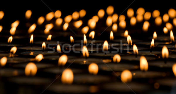 Burning candles Stock photo © All32