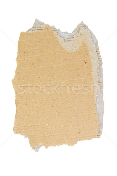 A piece of cardboard. Stock photo © All32