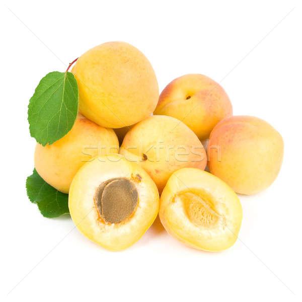 Geïsoleerd witte voedsel vruchten achtergrond zomer Stockfoto © All32