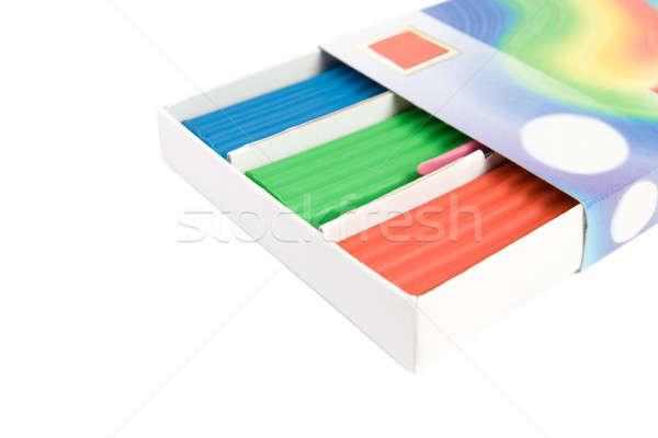 Multicolore finestra isolato bianco business arte Foto d'archivio © All32