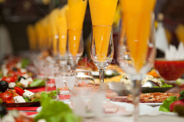 Served for a banquet table Stock photo © All32