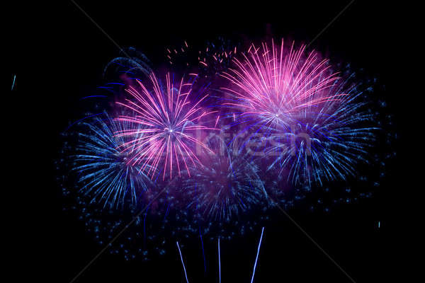Fireworks Stock photo © All32