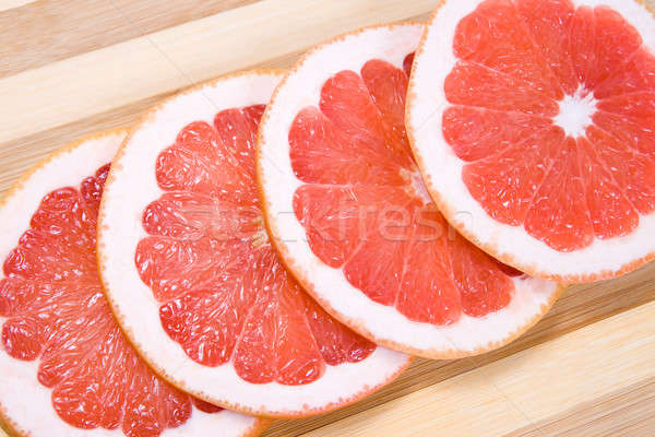 Grapefruit slices Stock photo © All32