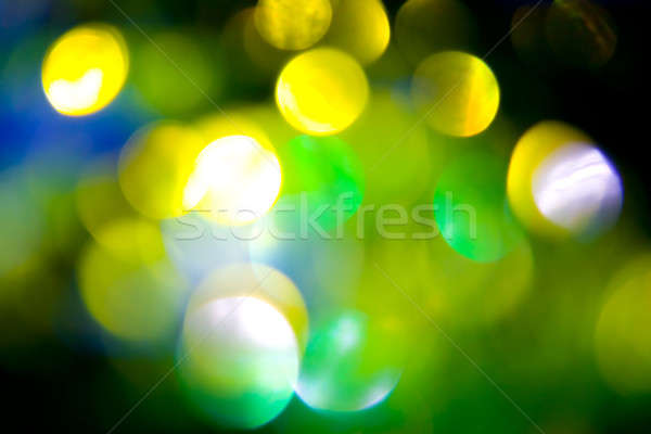 Coloured bokeh background Stock photo © All32