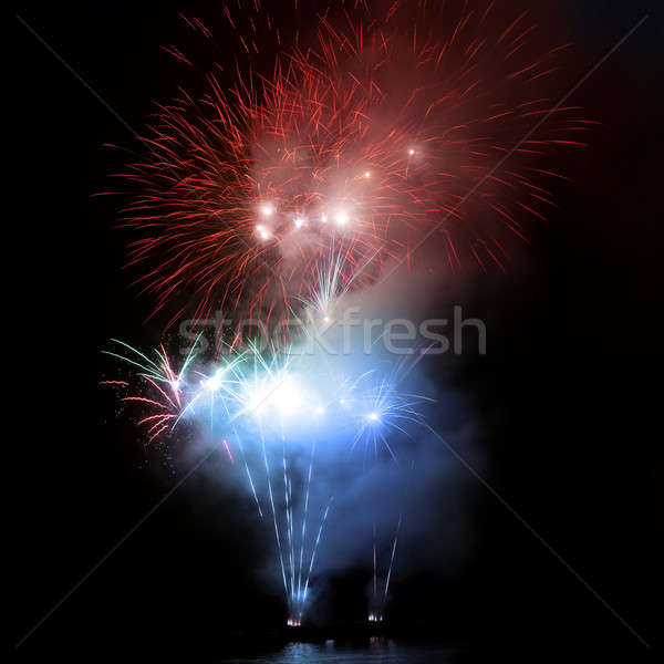 Colorful fireworks Stock photo © All32