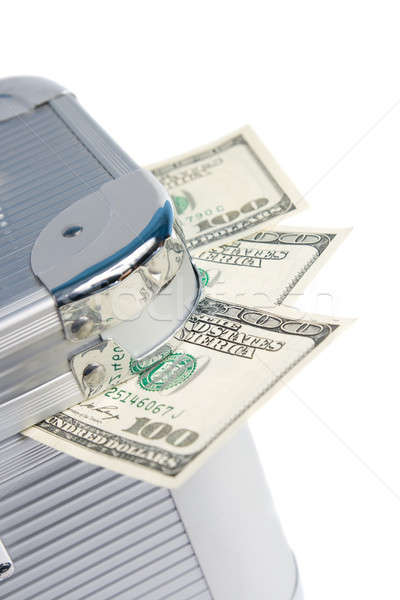 Suitcase full of money  Stock photo © All32
