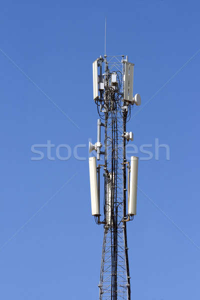 Antenna mobile communication. Stock photo © All32