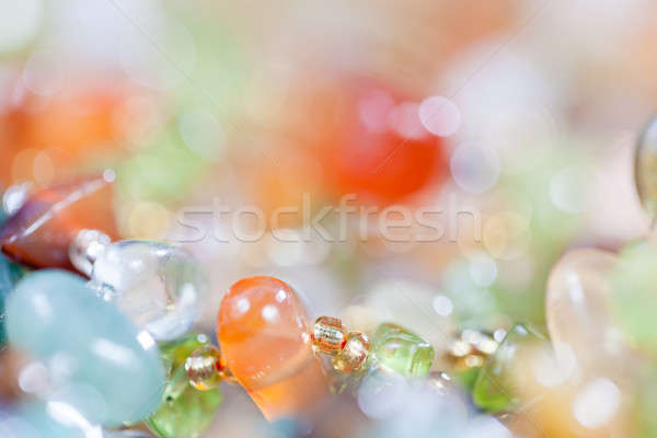 Colored stones in jewelry Stock photo © All32