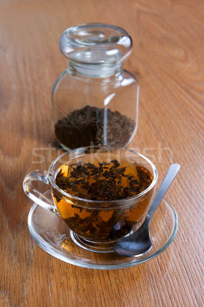 Tea brewed in a cup Stock photo © All32