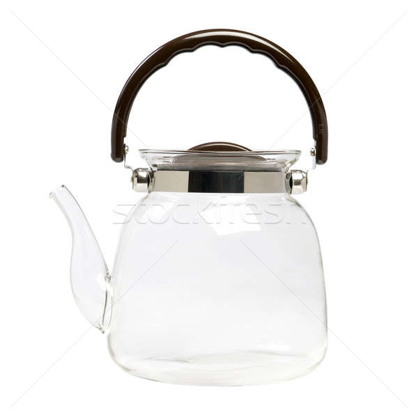 Glass teapot for boiling water. Stock photo © All32