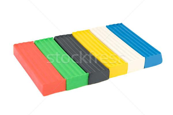 Multicolore isolato bianco business arte istruzione Foto d'archivio © All32