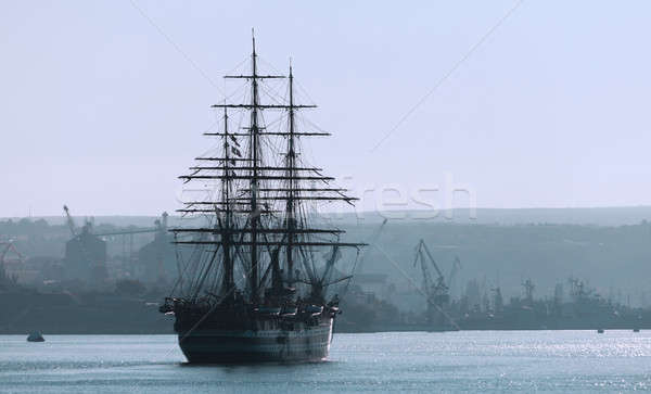 Sailing ship Stock photo © All32