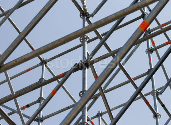 Metal structure. Stock photo © All32