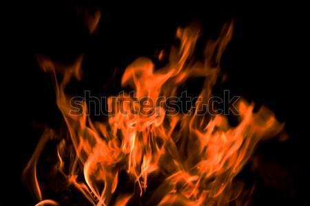 Flammes peuvent utilisé feu résumé nature Photo stock © All32