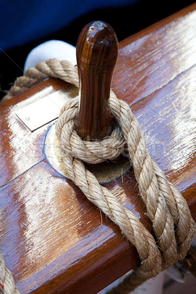 Rope control the sails Stock photo © All32