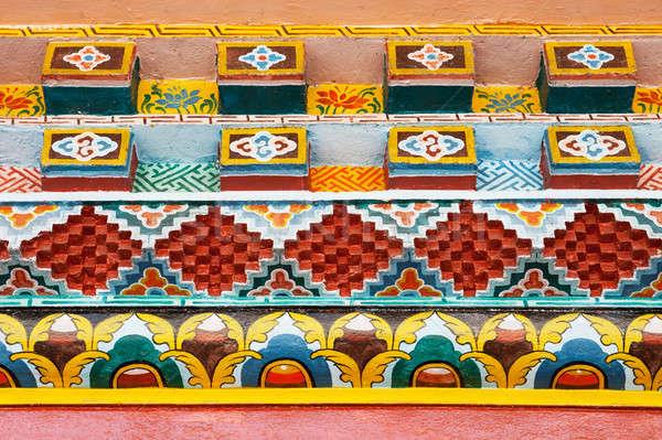 красивой украшение стены текстуры фон искусства Сток-фото © All32