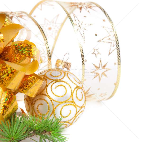 Noel süslemeleri can kullanılmış doğum günü arka plan Stok fotoğraf © All32