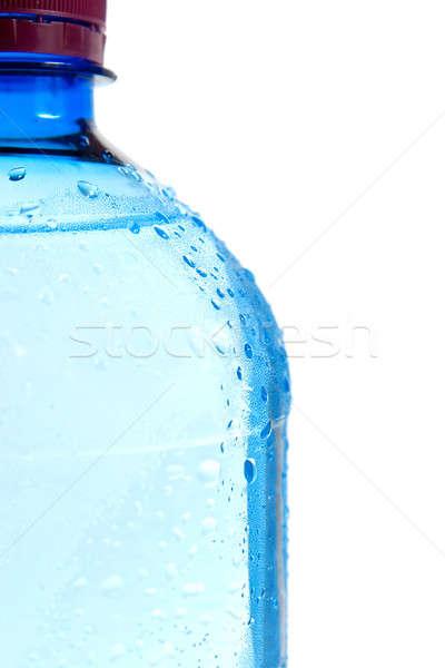 Garrafa isolado branco água abstrato Foto stock © All32