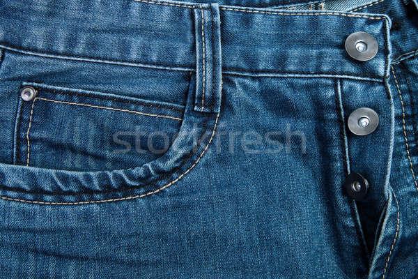 Jeans broek achtergrond weefsel kleur patroon Stockfoto © All32