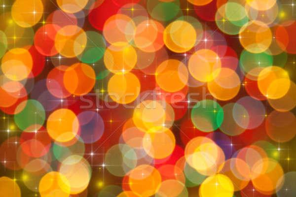 Stockfoto: Feestelijk · lichten · kan · gebruikt · ontwerp · achtergrond