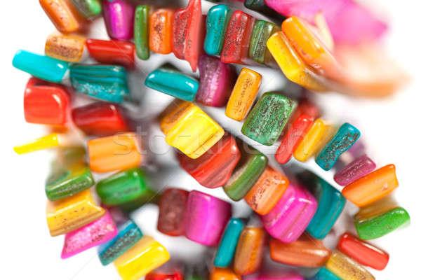 Multi-colored stones in the Bijou Stock photo © All32