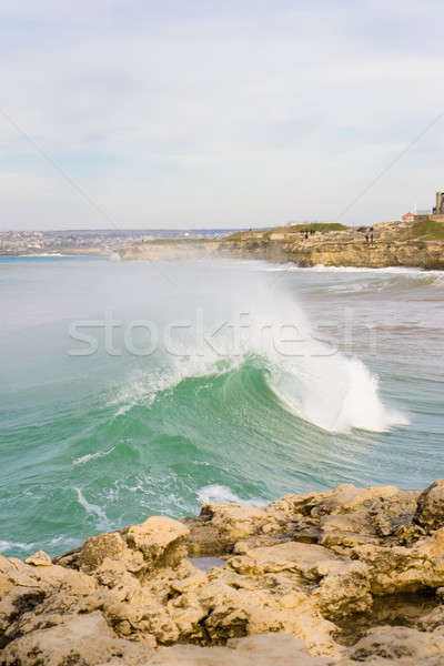 Foaming wave Stock photo © All32